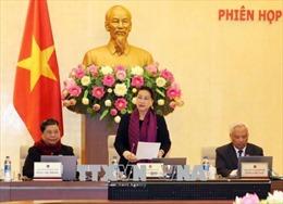Bế mạc Phiên họp thứ 21 của Ủy ban Thường vụ Quốc hội