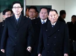Tổng thống Hàn Quốc Moon Jae-in gặp trưởng phái đoàn cấp cao Triều Tiên