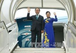 Chủ tịch nước Trần Đại Quang rời Hà Nội đi thăm cấp Nhà nước tới Nhật Bản