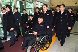 Paralympic PyeongChang 2018: Phái đoàn Triều Tiên đến Hàn Quốc