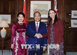 Thủ tướng Nguyễn Xuân Phúc kết thúc chuyển thăm chính thức New Zealand