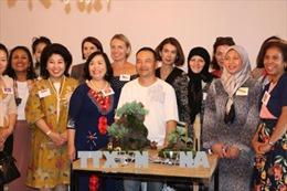 Giao lưu phụ nữ quốc tế và quảng bá văn hóa Việt Nam tại Australia