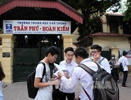 Thi lớp 10 bằng tổ hợp nhiều môn, Hà Nội khẳng định tránh hiện tượng học lệch