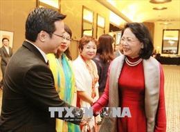 Phó Chủ tịch nước Đặng Thị Ngọc Thịnh gặp gỡ kiều bào và một số công ty Australia