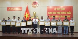 Truy tặng Bà mẹ Việt Nam Anh hùng cho 25 Mẹ ở Đà Nẵng