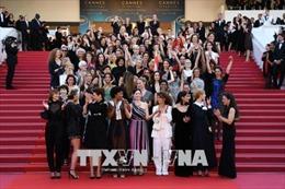 LHP Cannes ký cam kết thúc đẩy bình đẳng giới