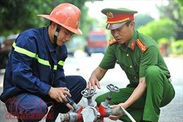 Hình ảnh những người lính PCCC Ninh Bình