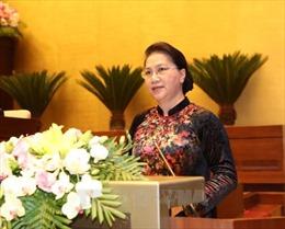 Phát biểu khai mạc của Chủ tịch Quốc hội tại Kỳ họp thứ 5, Quốc hội Khóa XIV