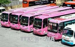 Nhiều xe khách tuyến Thái Bình - Giáp Bát dừng hoạt động