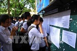 Sáng nay, học sinh Hà Nội sẽ làm thủ tục thi vào lớp 10 THPT