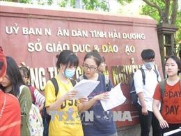 Hải Dương: 71 thí sinh bỏ thi tại kỳ thi tuyển sinh vào lớp 10