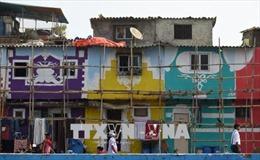 Dùng nghệ thuật thay đổi diện mạo các khu ổ chuột ở Ấn Độ