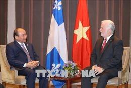 Thủ tướng Nguyễn Xuân Phúc tiếp Thủ hiến bang Québec, Canada
