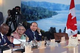 Thủ tướng Nguyễn Xuân Phúc dự Hội nghị Thượng đỉnh G7 mở rộng tại Canada