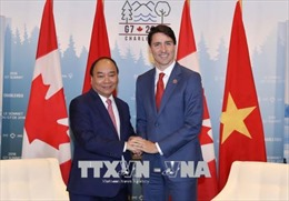 Thủ tướng Nguyễn Xuân Phúc hội đàm với Thủ tướng Canada Justin Trudeau