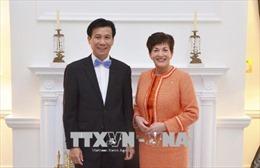 Toàn quyền New Zealand hoan nghênh sự đóng góp của Việt Nam trong các tổ chức đa phương