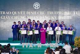 Doanh nghiệp đồng hành cùng Hà Nội trong hành trình phát triển