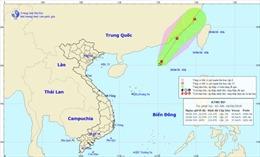 Thời tiết 18/6: Áp thấp nhiệt đới di chuyển theo hướng Đông Bắc, cả nước có mưa dông