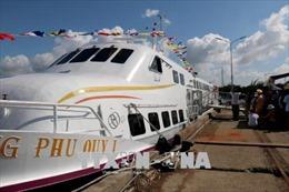 Khai trương tàu cao tốc tuyến Phan Thiết - Phú Quý