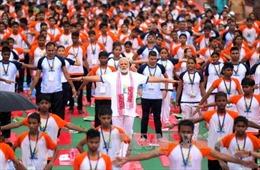 Ấn Độ kỷ niệm ngày Yoga quốc tế