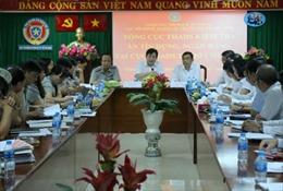 Tổng cục Thi hành án dân sự và Agribank làm việc về công tác thi hành án tín dụng, ngân hàng trên địa bàn TP Hồ Chí Minh