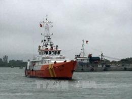 Khẩn trương tiếp cận, hỗ trợ tàu cá bị phá nước trên biển