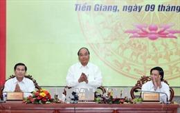 Thủ tướng: Kinh tế Tiền Giang cần phát triển trên 5 trụ cột chính