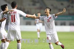 ASIAD 2018: Cận cảnh trận thắng giòn giã 2-0 của Olympic Việt Nam trước Olympic Nepal