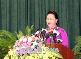 Chủ tịch Quốc hội: Hải Phòng cần hướng đến việc thu nội địa bền vững