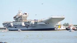 Ấn Độ thử nghiệm tàu sân bay tự đóng vào năm 2020