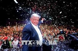 Tổng thống đắc cử Mexico điện đàm với người đồng cấp Mỹ về vấn đề di cư
