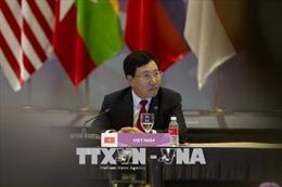 Việt Nam tham dự Hội nghị Bộ trưởng Ngoại giao Sáng kiến hạ nguồn Mekong lần thứ 11
