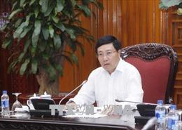 Quyết liệt đôn đốc hoàn tất công tác tổ chức Hội nghị WEF ASEAN