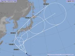 Bão Shanshan sắp đổ bộ miền Đông Bắc Nhật Bản