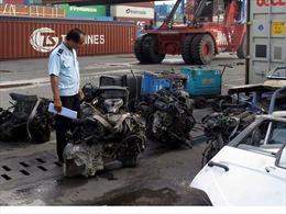 Thanh tra về nhập khẩu phế liệu trong tháng 8