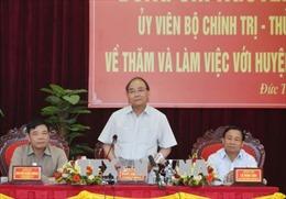 Thủ tướng: Đức Thọ cần trở thành huyện nông thôn mới đầu tiên của Hà Tĩnh