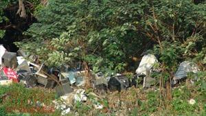 Kinh hãi 'hồ rác' Linh Quang