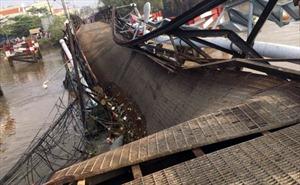 Khẩn trương khắc phục sự cố sập cầu Long Kiển