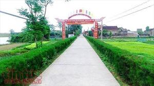 Chùm ảnh vùng quê trù phú, an lành ở Hà Tĩnh