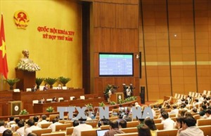 Kỳ họp thứ 5, Quốc hội khóa XIV thông qua 7 dự án luật