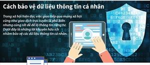 Cách bảo vệ dữ liệu thông tin cá nhân