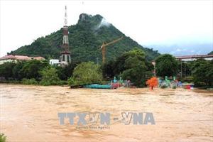 Chùm ảnh Hà Giang chìm trong mưa lũ