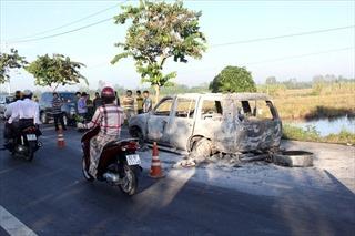 Di lý 6 đối tượng giết người, đốt xe về Thành phố Hồ Chí Minh