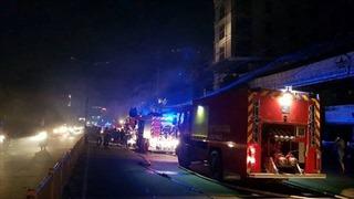Cháy quán karaoke, hàng chục khách bị mắc kẹt được giải cứu