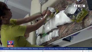 Phá đường dây buôn bán ma túy xuyên quốc gia do 'nữ quái' cầm đầu
