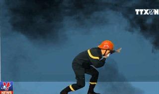 Kỹ năng cần thiết để thoát nạn khi có cháy ở chung cư cao tầng
