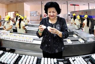 Phạm Thị Huân - 'Nữ hoàng' trứng gia cầm Việt