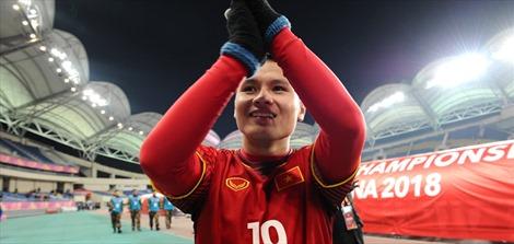 Tiền đạo Quang Hải: Chúng tôi muốn thi đấu ở chung kết