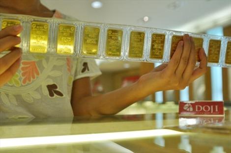 Tuần qua, vàng giảm trung bình 140.000 đồng/lượng