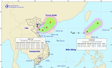 Các tỉnh, thành Bắc bộ, Bắc Trung bộ chủ động ứng phó với áp thấp nhiệt đới và mưa lớn diện rộng